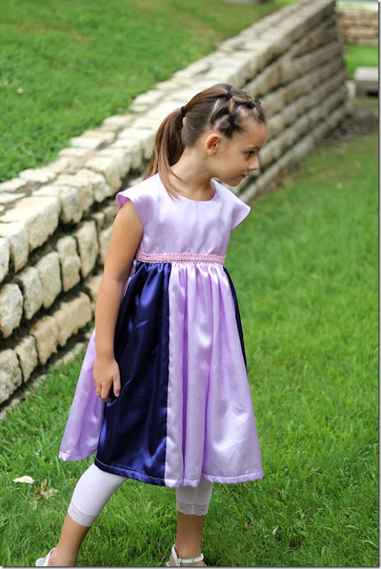 Purple Princess Dresses