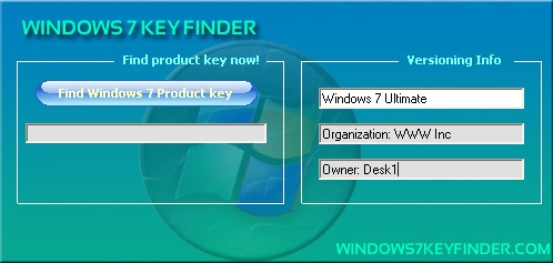 windows7keyfinder