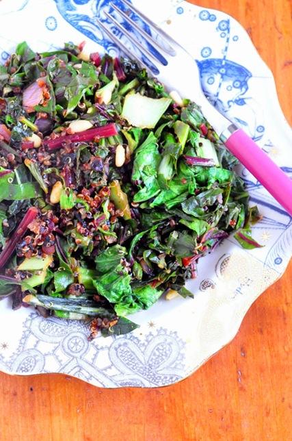 beet_greens_quinoa
