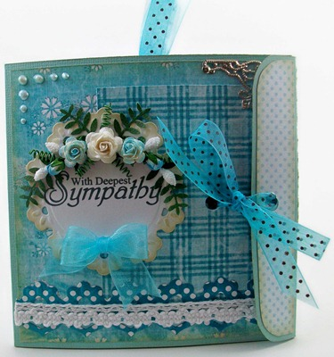 With Deepest Sympathy Card Gift Box
