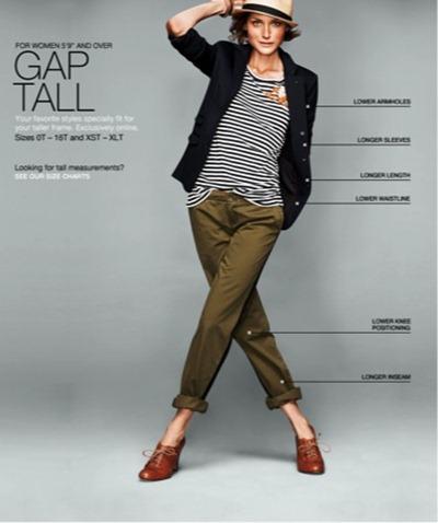 Gap Tall