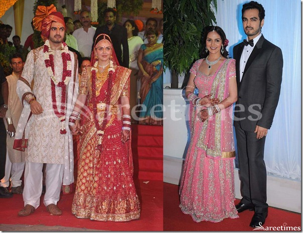 Esha_Deol_Marriage_and_Reception