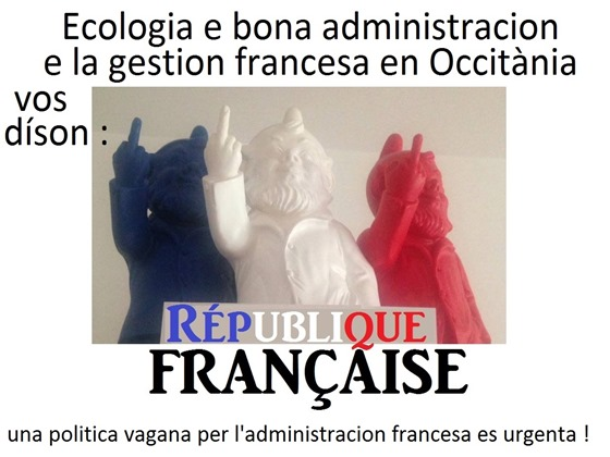 Republica francesa e la gestion administrativa en Occitània