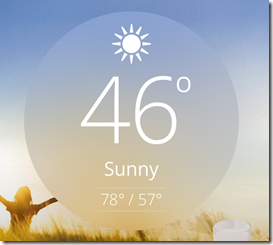 Crazy Weather