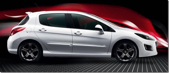Peugeot 308 gti 2012