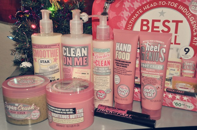 soap and glory best of all 2012 boots