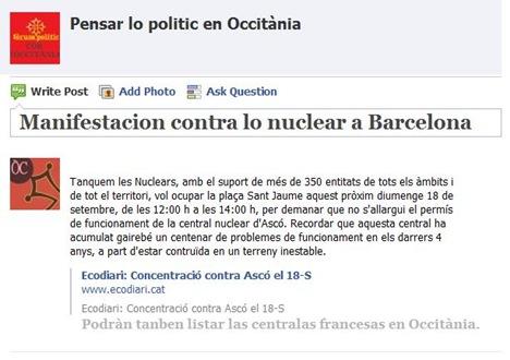 contra lo nuclear