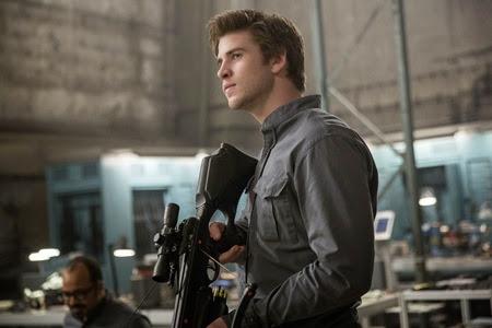 Liam Hemsworth in Mockingjay Part 1