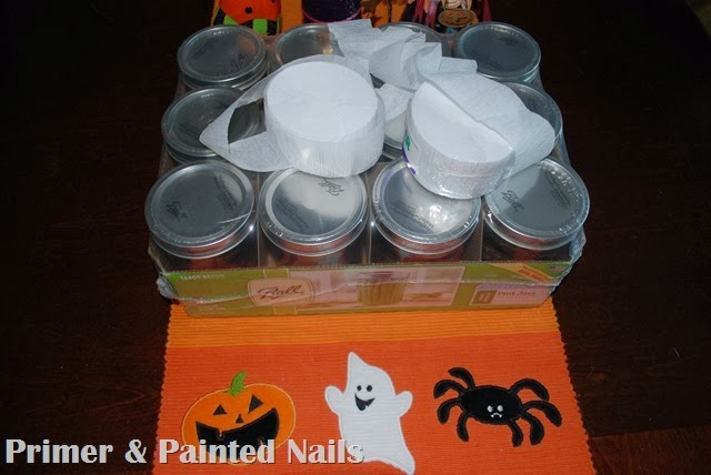 Mummy Jar Supplies 2 - Primer & Painted Nails
