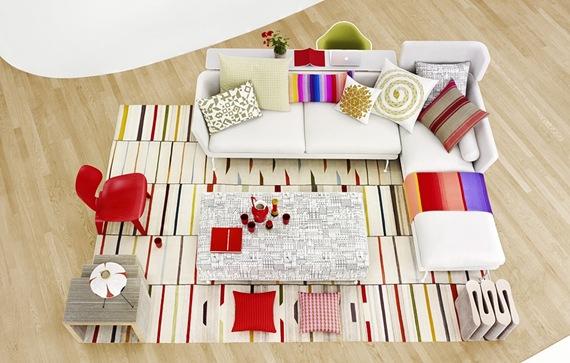 sofa para living con estilo moderno 1