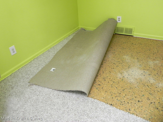pull up carpet
