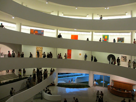 Museums of New York: Inside the circular Guggenheim