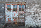 """Red Door Faded"" - copyright David J. Thompson"