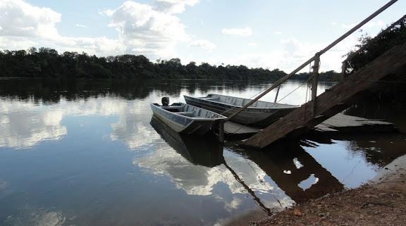 Le Rio Teles Pires, município de Nova Canaã do Norte (Mato Grosso, Brésil), 11 juin 2011. Photo : Cidinha Rissi