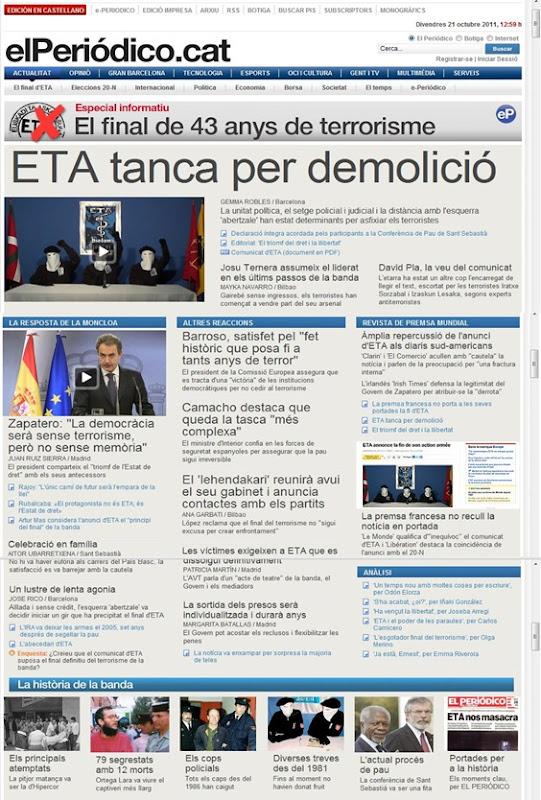ETA tanca per demolició ElPeriódico 211011