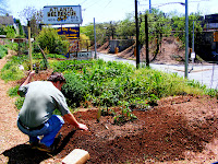 April 9th, 2010 - Initial Tending of Garden Plot at Lake Claire Community Land Trust