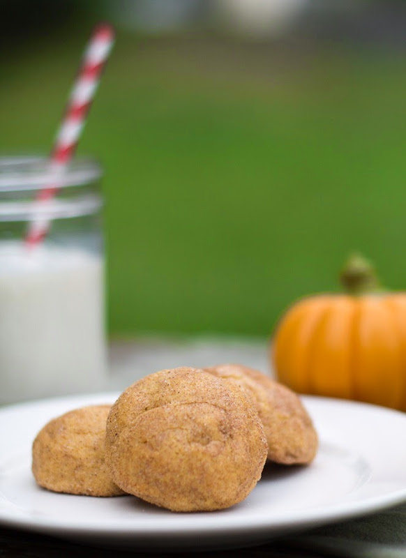 Pumpkin Snickerdoodles with Cream Cheese Filling (6)