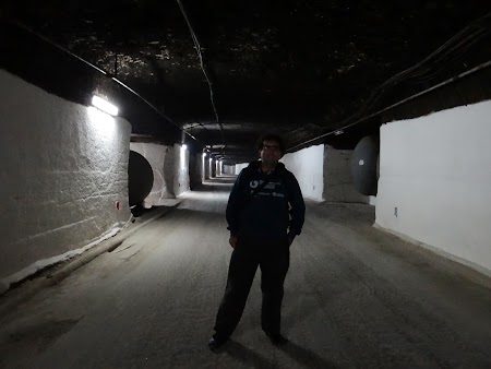 Basarabia - Drumul Vinului: Orasul subteran Cricova