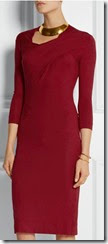 Vivienne Westwood Anglomania Red Jersey Dress