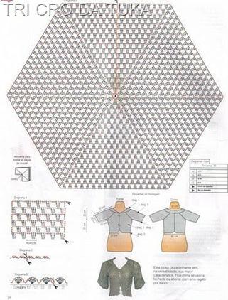 casaquinho de hexagono b