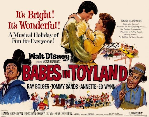 Babes in Toyland. (1961) (Ray Bolger, Tommy Sands, Annette Funicello, ...