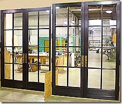 cropped bronze doors