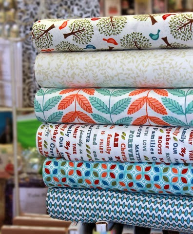 family tree fabrics from Moda