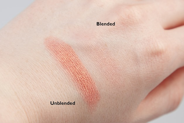 sleek blush rose gold nars orgasm dupe review swatch