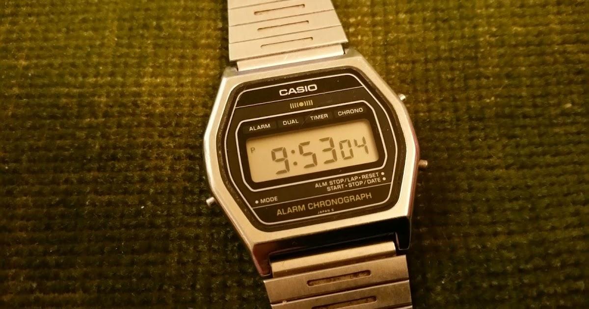 which today casio sa 54 slim digital