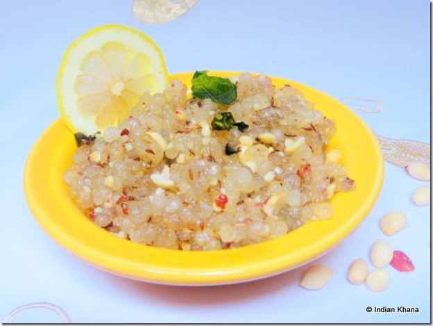 Sabudana upma recipes Navratri Recipes