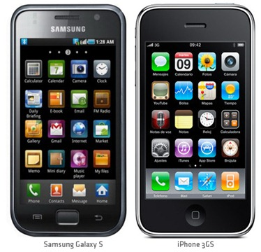 iPhone vs Samsung Ace