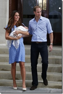 william, kate, and baby 1