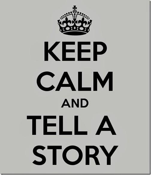 Tómao con calma e conta unha historia