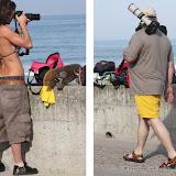 Les photographes amateurs...