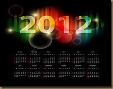2012-Calendar-Vector