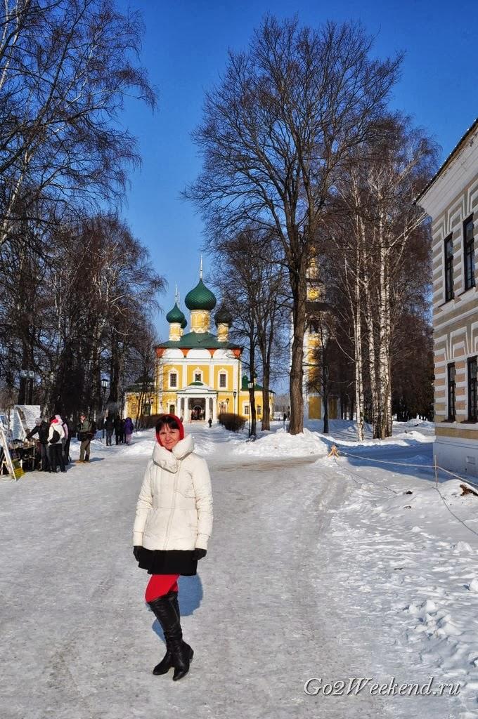 Спасо-Преображенский собор зимой