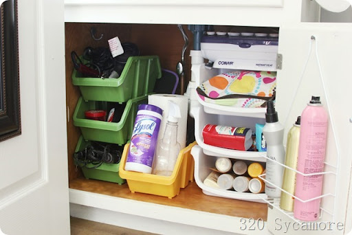 Exceptional Under Sink Organization