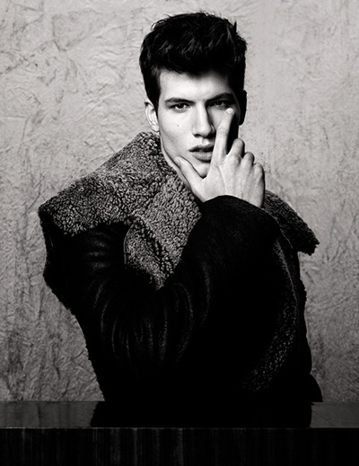 [outtake] Dylan Reitz by Richard Pier Petit for The Fashionisto #3, W/S 2012.  Styled by Carl Barnett.
