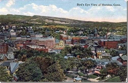 PostcardMeridenCTAerialView1914