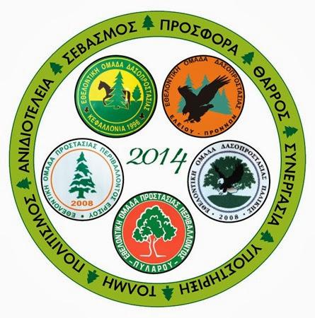Κοπή πίτας για τις εθελοντικές ομάδες της Κεφαλονιάς (10.1.2014)