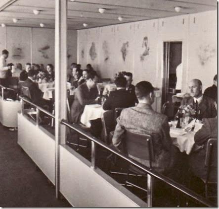 Hindenburg dining salon