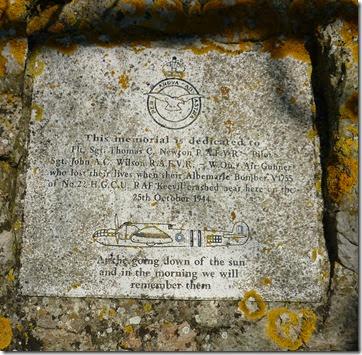air crash memorial