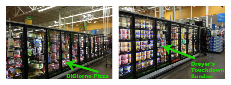 DiGiorno pizza and Dreyer s ice cream. Looking for a fun party for your teenage boy? Why not throw a Football video game party? Easy ideas for how to entertain kiddos during the Big Game. Features DiGiorno pizza, personalized football cups, free printable lanyards, and an incredible recipe for football shaped ice cream sandwiches! #GameTimeMVP #CollectiveBias #ad