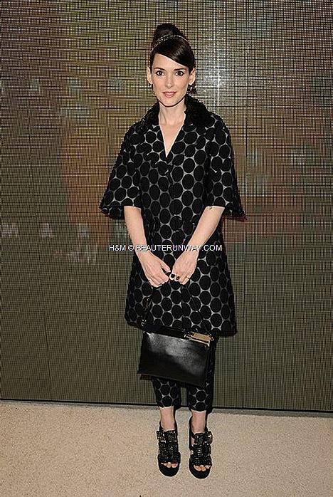 MARNI H&M USA CONSUELO COPPOLA WINONA RYDER HOLLYWOOD SPRING 2012 MEN & WOMEN COLLECTION