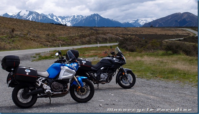More New Zealand motorcycle tour