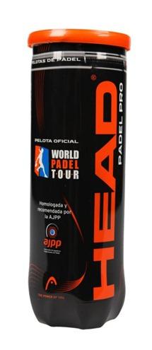 HEAD crea la pelota Padel Pro. Modelo oficial con el que se jugará el World Padel Tour 2013.
