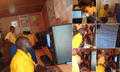 View Makosi Primary Pupils' Computer Lesson