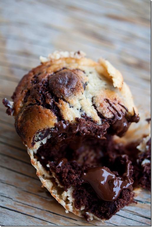 Black Bottom Cupcakes (4 von 7)