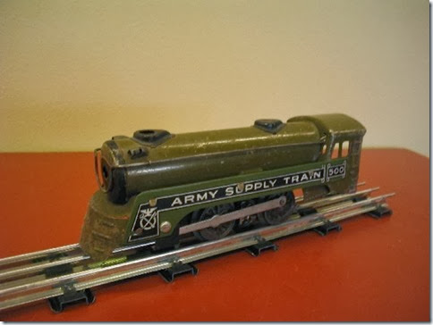 Marx #500 Army Supply Train Locomotive