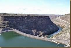 Round Butte dam 1